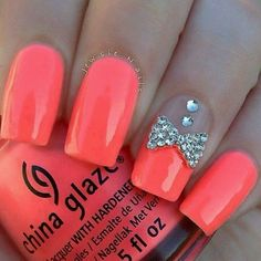 Love the color! I would do french tip only, minus the bling.