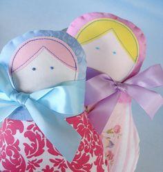Toy Sewing Pattern for Matryoshka Dolls Four by preciouspatterns. $4.99, via Etsy.