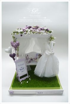 Petit D' Licious: Elegant & Pretty Garden Arbor Swing Wedding