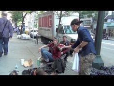 This is Just Gorgeous, Be The Change you Want to see - make the homeless smile http://www.youtube.com/watch?v=GoGtaXt5f1w