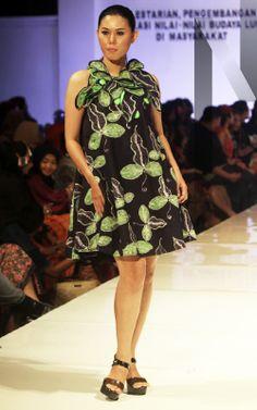 Gedangsari #04 | N-Style in #Yogyakarta #Fashion #Forecasting 2015 with #Batik created by junior high school students from the region Gedangsari, #Gunungkidul, Yogyakarta