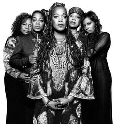 Daughters of Malcolm X and Betty Shabazz, NYC, November 2009. Qubilah, Gamilah, Malaak, Attallah, and Ilyasah Shabazz. Gorgeous family