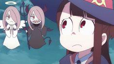 Little Witch Academia, Sucy Manbavaran y Atsuko Kagari/akko