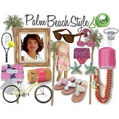 Inspiration -Palm Beach Style