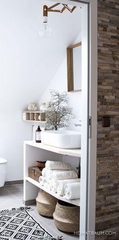 Hermosa casa nórdica en blanco