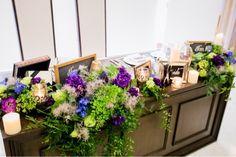 our biginning day 16 高砂装花紹介 の画像|Y & H wedding note