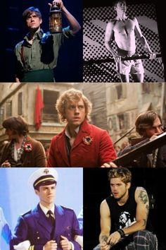 Aaron Tveit! Wicked! Next To Normal! Les Mis! Catch Me If You Can! RENT! & it's not pictured but, Hairspray & Saved as well!