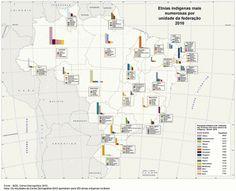 IBGE lança Atlas Nacional Digital do Brasil 2016 com mapas interativos e caderno temático sobre indígenas