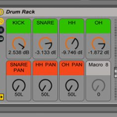 Live: Layering Drum Sounds With Drum Racks
