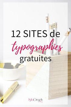 12 sites de typographies gratuites !