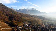 Ollon #villars  #ollon Nice View, Switzerland, Mount Everest, Mountains, Places, Nature, Landscapes, Travel, Beautiful