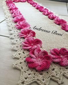 Passadeira,arte,decoração,crochê,tapete