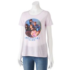 Juniors' The Breakfast Club Classic Graphic Tee, Teens, Size: Medium, Blue Other
