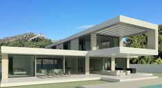 The flying house: contemporary villa by Marbella architects