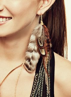feather craft | Feather Jewelry