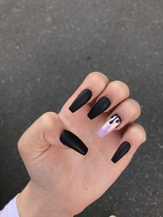 best 63 acrylic nail designs 2019 26 is part of Natural Acrylic nails Brown - best 63 acrylic nail designs 2019 26 Related Acrylic Nails Natural, Best Acrylic Nails, Black Acrylic Nails, Autumn Nails Acrylic, Acrylic Nail Designs Coffin, Aycrlic Nails, Hair And Nails, Manicure, Toenails