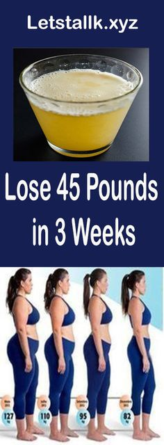 Lose 45 Pounds quickly in 3 Weeks – Let's Tallk