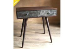 Revamped vintage entrance table by Design Revival