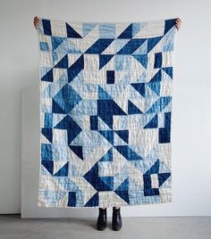 The first post in our new Extracurricular series, where we profile our personal sewing projects, is up. Today is Sarah's beautiful quilt that she hand dyed. Link in profile for details!