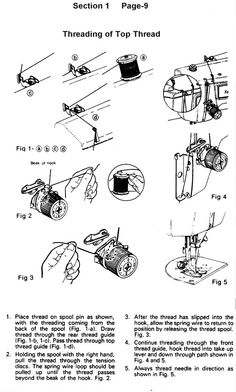 79 best old sewing machines images on pinterest old sewing kenmore 1521 1560 1937 sewing machine threading diagram fandeluxe Choice Image