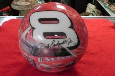 DALE EARNHARDT JR. #8 BOWLING BALL BY BRUNSWICK USA UNDRILLED 15#,5OZ COLLECTOR | Sports Mem, Cards & Fan Shop, Fan Apparel & Souvenirs, Racing-NASCAR | eBay!