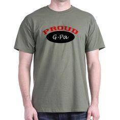 Proud G-Pa Dark T-Shirt