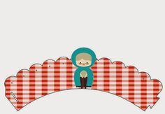 Fazendo a Propria Festa: Mini Kit de Personalizados da Chapeuzinho Vermelho