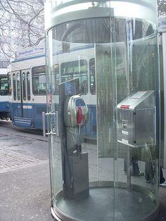 Phone booth in Zurich