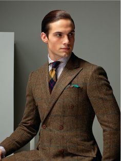 Beautiful Tweed.... Is Good for You.  caro&doppel