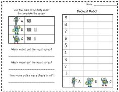 Graphing FREEBIE with Robots & Zoo Animals!