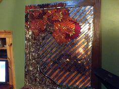 Large mirror- autumn bliss