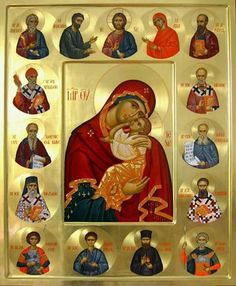 Dođi i vidi Religious Images, Religious Icons, Religious Art, Byzantine Art, Byzantine Icons, Faith Of Our Fathers, Christian Artwork, Madonna And Child, Blessed Virgin Mary
