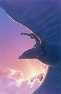"""""""Rescuers Down Under"""" by John Alvin - Original production color concept art."""