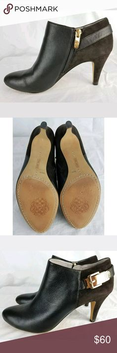 58b37627e Vince Camuto Velino High Heel Booties Ankle Boots Vince Camuto Velino High  Heel Booties Ankle Boots
