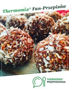 ZDROWA PRZEKĄSKA - POWER BOWL jest to przepis stworzony przez użytkownika StyrAna. Ten przepis na Thermomix® znajdziesz w kategorii Desery na www.przepisownia.pl, społeczności Thermomix®. Doughnut, Breakfast, Thumbnail Image, Fit, Thermomix, Recipes, Morning Coffee