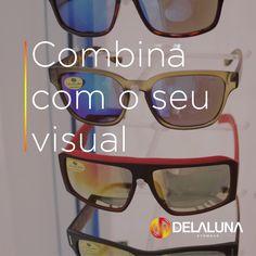 Na Delaluna, você encontra óculos pra todos os gostos, mas a nossa dica de hoje é apostar nos óculos espelhados. Venha garantir o seu com a gente e arrase por aí!