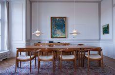 Pendant lamp / contemporary / aluminum / gray - PH 5 & PH 50 by Poul Henningsen - Louis Poulsen Lighting A/S International