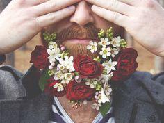 flower beard | Indie & Afins | Pinterest | Flower beard, Posts and ...