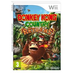 Jeu WII - Donkey Kong Country Returns