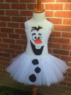 Olaf Tutu Dress - Olaf Tutu - Olaf Costume - Olaf Tutu Costume - Olaf Frozen - Olaf Frozen Tutu - Frozen Costume - Dress - Toddler Costume