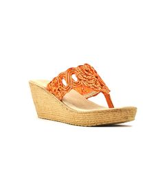 Reba Galleon Wedge Sandals #Reba #Dillards
