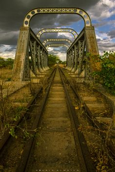 Forgotten........Rail Bridge, Brazil  photo via kathleen                                                                                                                                                     More