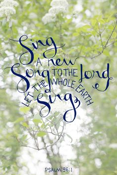 Psalm 96:1