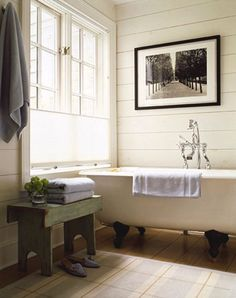 how to decorate with an vintage clawfoot bathtub