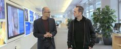Satya Nadella – First Interview as he took the role of Microsoft CEO
