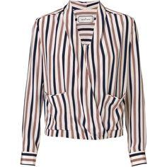 By Malene Birger Shukti silk blouse found on Polyvore
