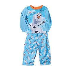 Disney Boys' 2T-4T Frozen 2-Pc. Olaf Pajama Set