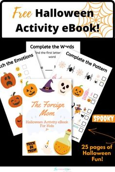 Are you looking for a fun and educational way to entertain your kids for Halloween? You found it! This educational eBook offers lots of learning oppurtunities for your