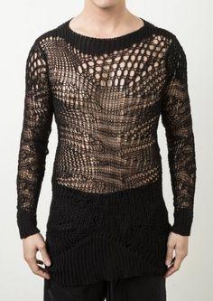 Delusion Manic Knit Black