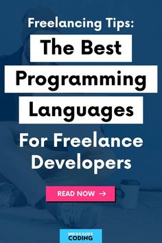 So you want to make money with your coding and web development skills and become a freelancer? Then you need to check out these popular programming languages for freelancing. If you want to find more freelance work and increase your earnings, learn one of these languages and specialize in a popular, in-demand field such as front-end web development, WordPress development, or mobile app development. Happy freelancing! #mikkegoes #freelancing #coding #makemoney Top Programming Languages, Coding Languages, Learn Programming, Computer Programming, Learn Html, Learn To Code, Learn Coding Online, Coding For Beginners, Best Online Courses